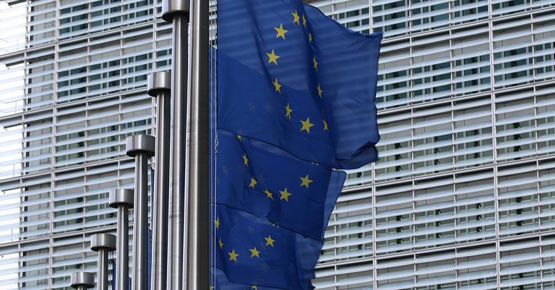 EU flag line