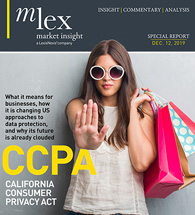 CCPA California Consumer Privacy Act Report