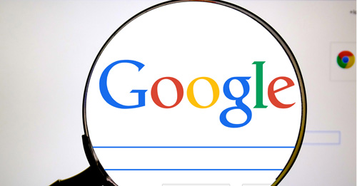 Google says it defeats competitors because in online search, it's top shelf