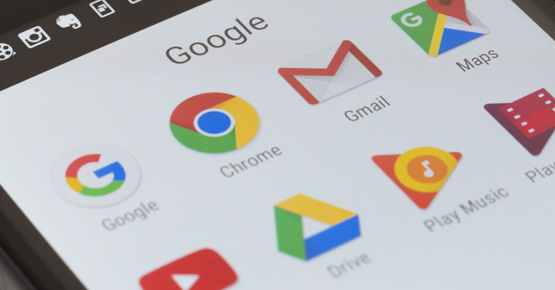 Google in app' access to data