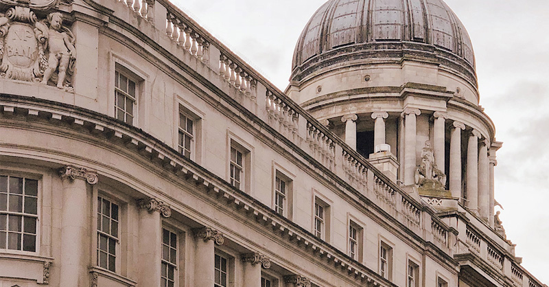 UK bank building