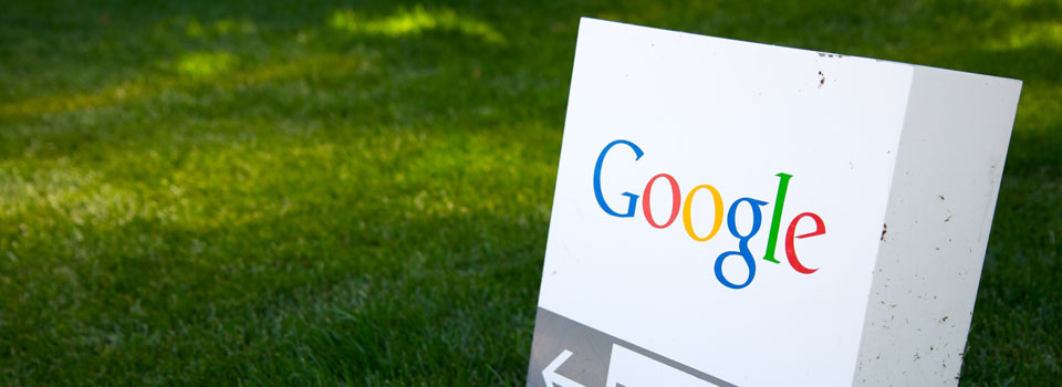 Google Sign on Lawn