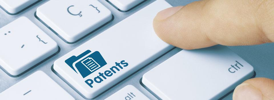 Patent Key on Keyboard