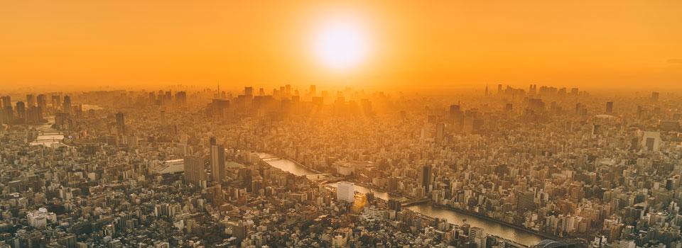 Tokyo Skline