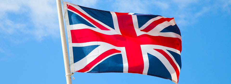Union Flag in Wind