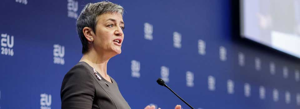 ​Vestager pledges to tame tech's 'dark side' in second EU mandate