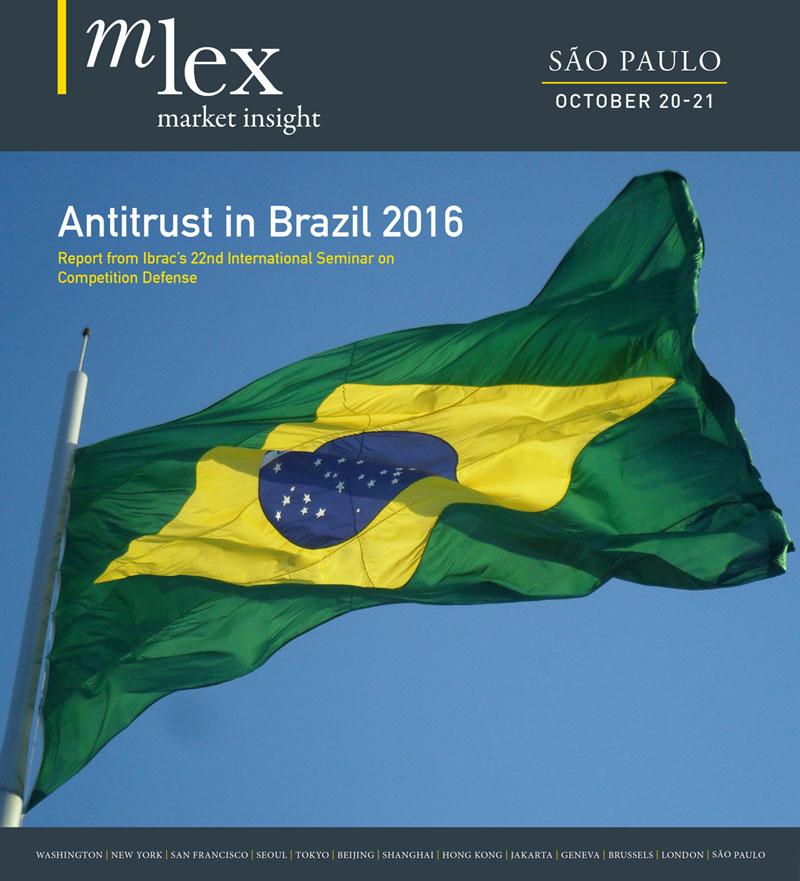 Antitrust in Brazil 2016