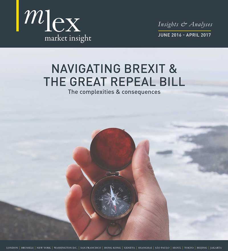 Navigating Brexit & The Great Repeal Bill