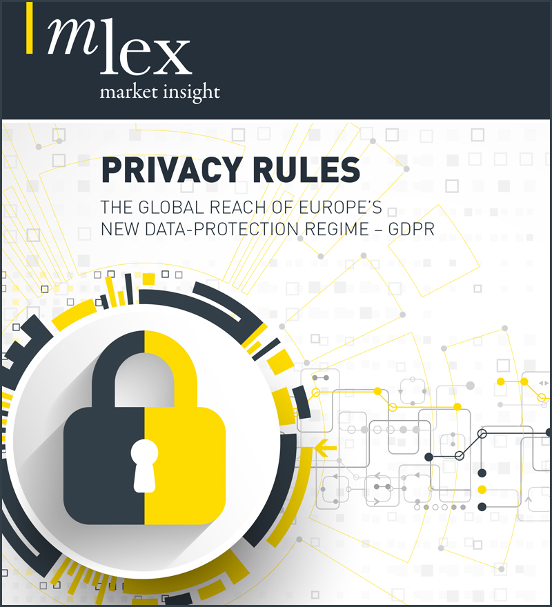 GDPR Privacy Rules