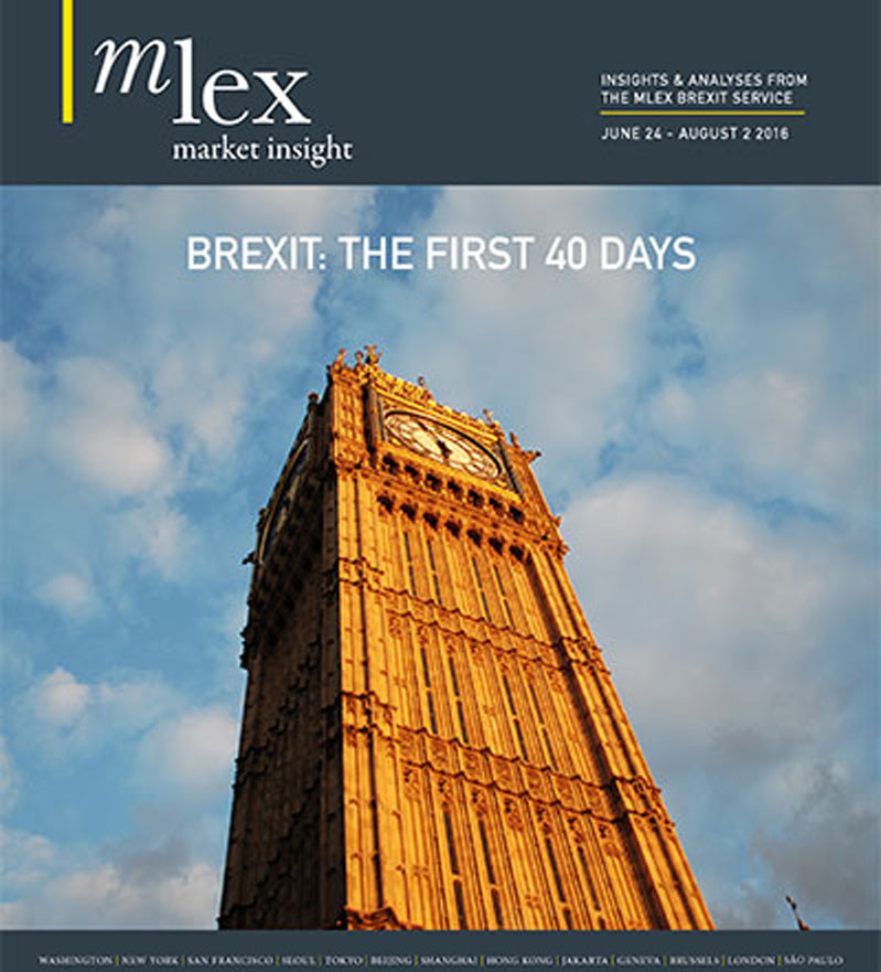 Brexit: The First 40 Days