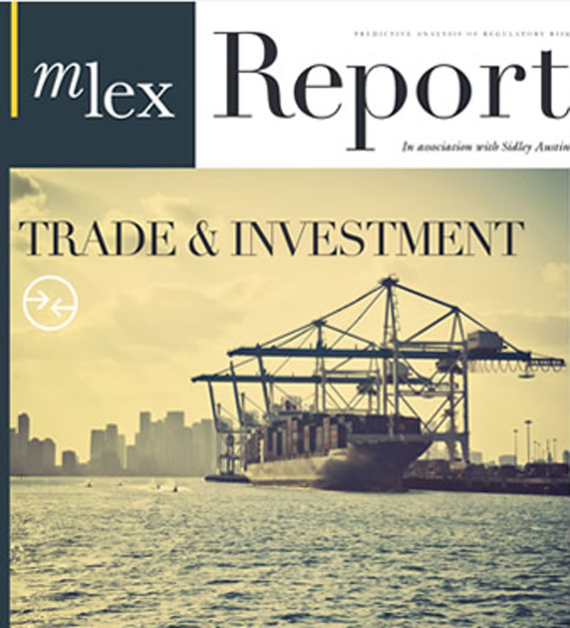 MLex Trade and Investment Report