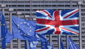 Flags EU & UK
