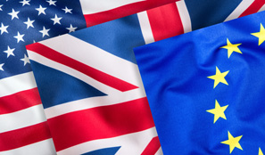US UK EU Flags